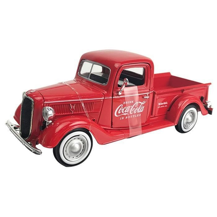 Coca Cola(コカ・コーラ)シリーズ フォード ピックアップ 1937 ボトルケース6個 1/24スケール 424065※