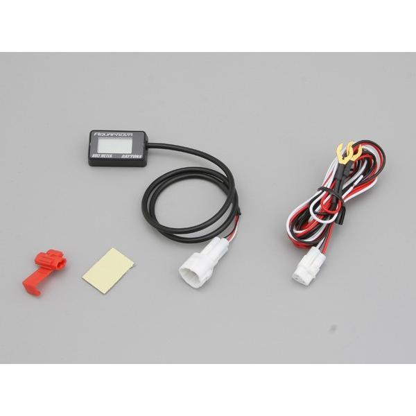 送料無料 デイトナ AQUAPROVA コンパクト ボルトメーター / DAYTONA 92386 / アクアプルーブ 電圧計