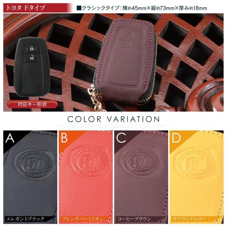 新型プリウス50系 C-HR CH-R chr RAV4 レザー スマートキーケース スマートキーカバー 本革 BRALD K26 プレゼント 男性 女性 2019 ギフト 雑貨|kuruma-com2006|03