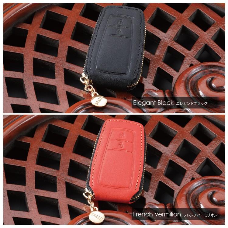 新型プリウス50系 C-HR CH-R chr RAV4 レザー スマートキーケース スマートキーカバー 本革 BRALD K26 プレゼント 男性 女性 2019 ギフト 雑貨|kuruma-com2006|04