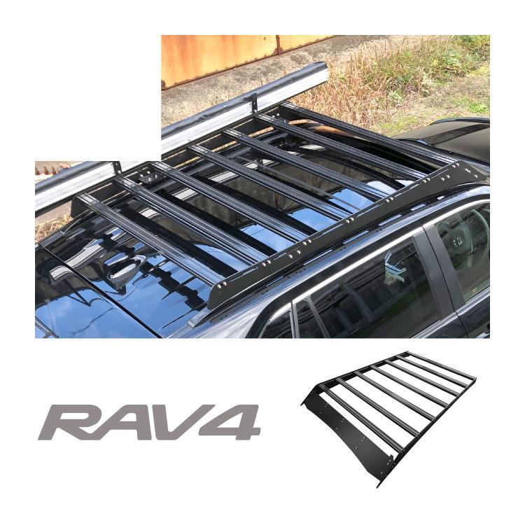 新型 RAV4 50系 カスタム パーツ ルーフキャリアラック ルーフラック MXAA52 MXAA54 X アドベンチャー G GZパッケージ 外装