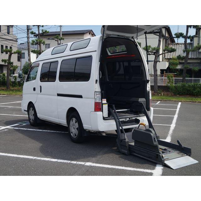 中古車 日産 キャラバンバス 福祉車両車椅子移動者電動チェアキャブ kurumaerabi
