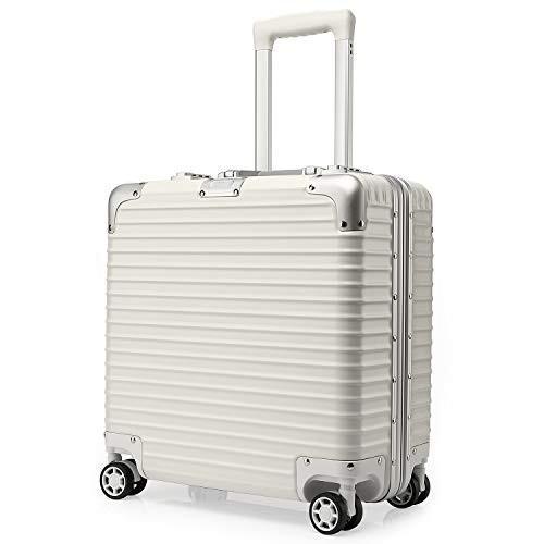 kroeus(クロース)横型ビジネスキャリーケース 8輪 機内持ち込型 TSAロック搭載 ABS+PC 小型 出張 スーツケース 1年間保証付き