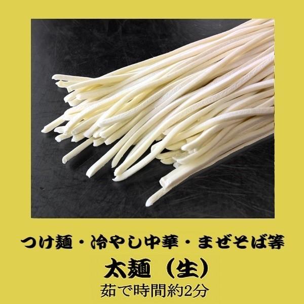 業務用 冷やし中華麺[太麺](生)120g×10人前 (茹で後太さ約3ミリ)【麺のみ】(翌日出荷可、月〜土出荷)