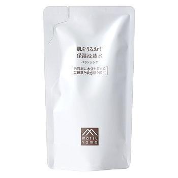 松山油脂 肌をうるおす保湿 浸透水 バランシング つめかえ用 (110mL) 詰め替え用 保湿化粧水 肌をうるおす保湿スキンケア kusurinofukutaro