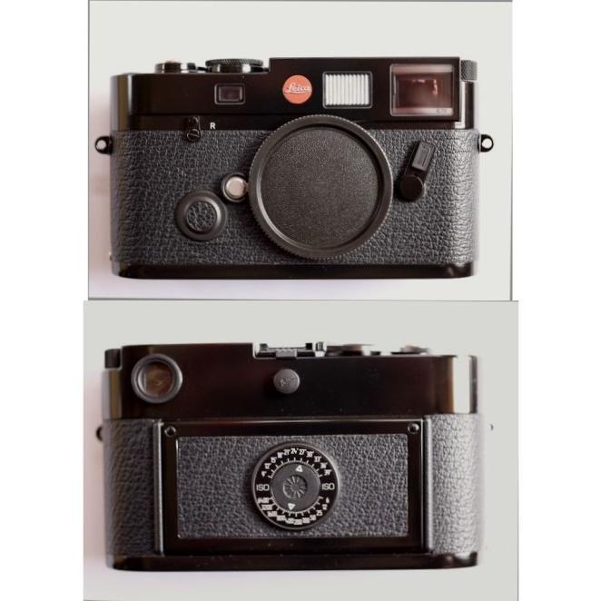 Analogkameras Leica M6 Schwarz