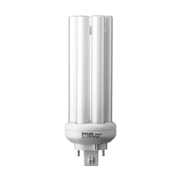 (まとめ) フィリップス コンパクト形蛍光ランプ 32W形 昼白色 PL-T32W/850/4P 1個 〔×10セット〕 〔×10セット〕