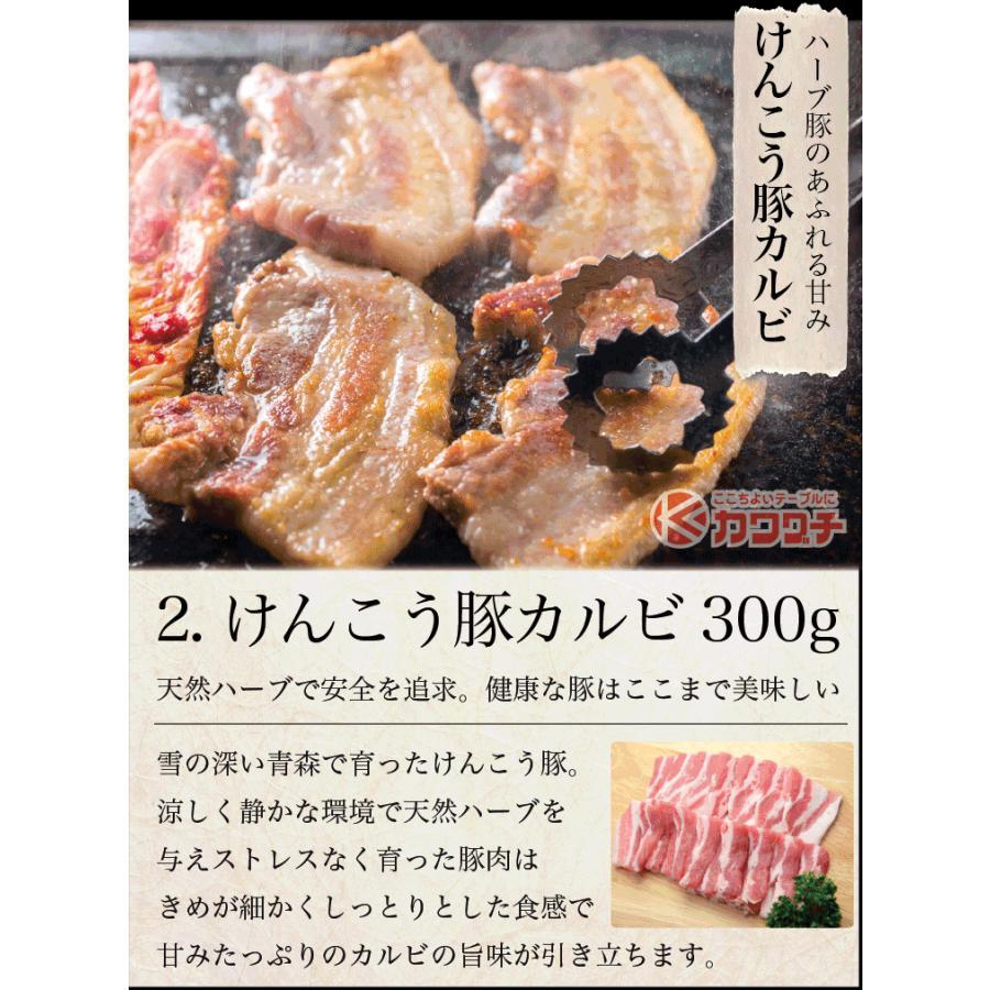 お歳暮 ギフト 焼肉 福袋 1kg   肉 3種盛 焼肉セット 国産牛 訳あり ハラミ 豚 カルビ バーべキュー kwgchi 10