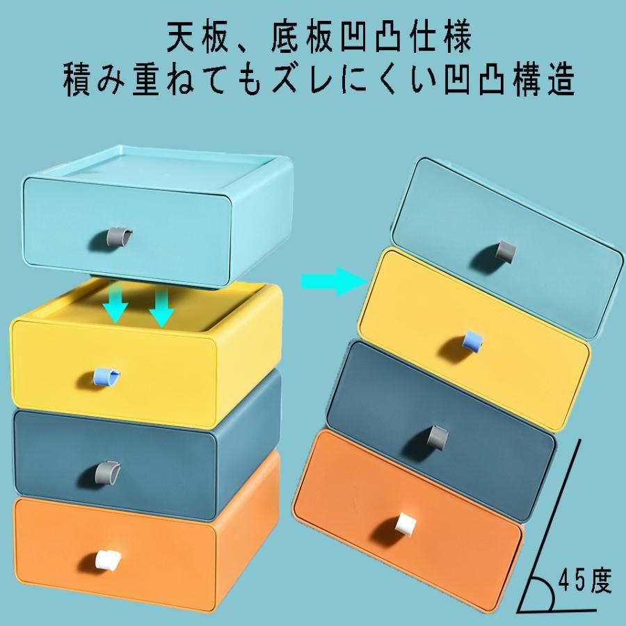 卓上収納ボックス 小物収納 DIY組み合わせ式 デスクップ収納 デスクトップ収納ラック 卓上収納ケース 化粧品収納 4色 小物入れ おしゃれ 多機能収納 kyo5301130 05