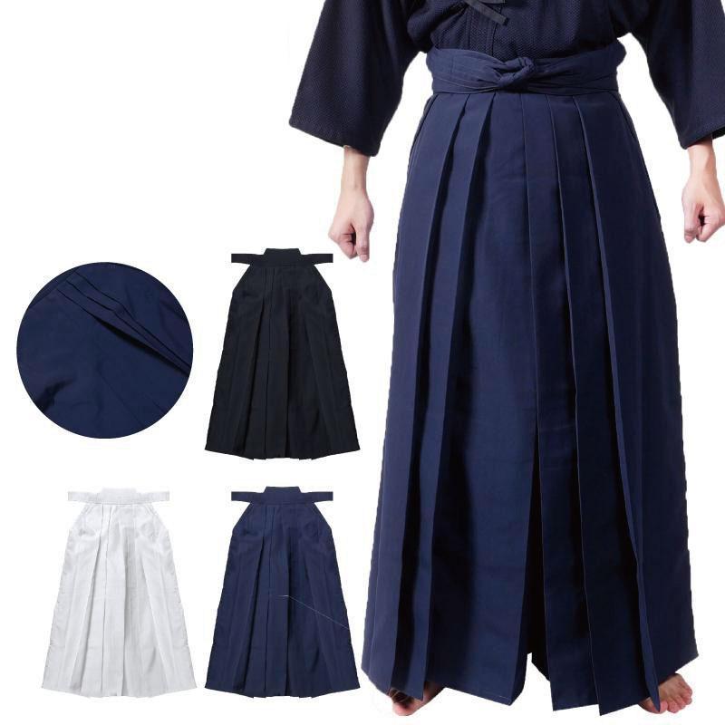 剣道 東レテトロン袴 紺・白・黒 26号〜30号