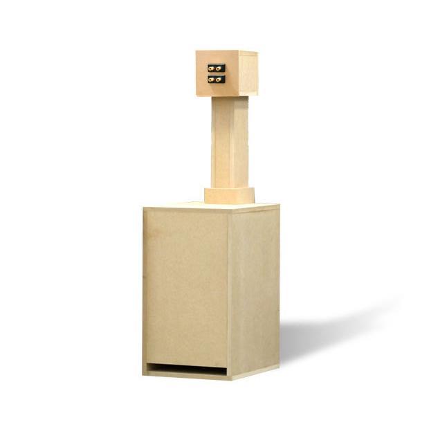 KP-BSP009 鳥形バックロードホーンキット 炭山アキラモデル「チュウサギ」(1本)|kyohritsu|03