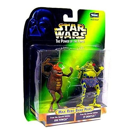 Star Wars POTF2 Power of The Force Max Rebo Band Pairs Joh Yowza and Sy Snootles