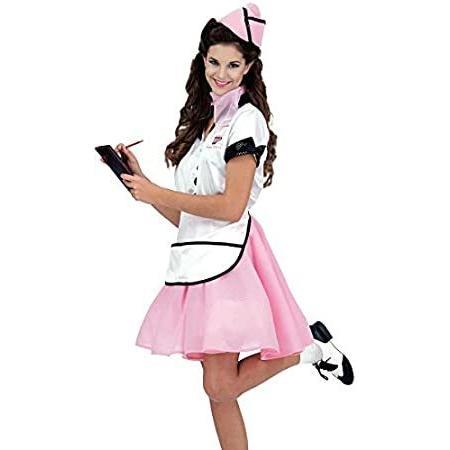 Rubie's Women's Soda Pop Girl 50s Costume, Multicolor, One Size