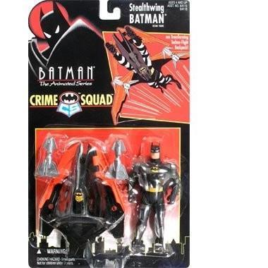 Batman - Crime Squad Batman (Stealthwing) Series 1 Action Figure