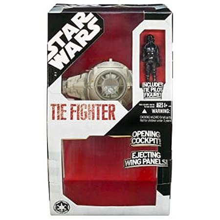 Star Wars Large 白い Tie Fighter with Pilot Figure