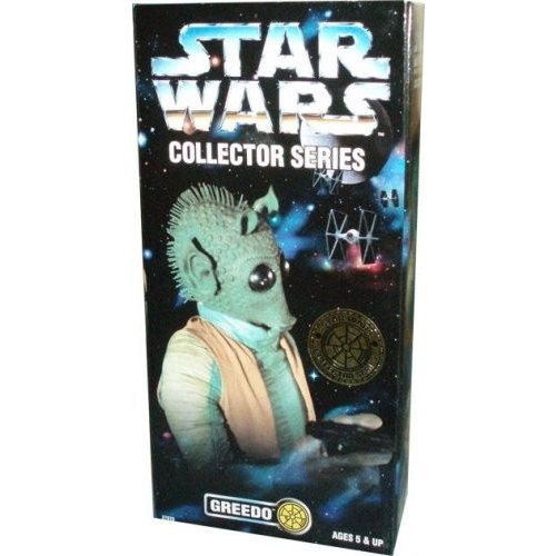 Kenner Year 1997 Star Wars Collector Series 12 Inch Tall Fully Poseable Figure with Authentically Styled Outfit and Accessories - GREEDO with Blaster
