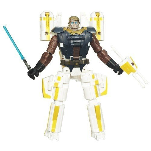 Star Wars Transformers Crossovers - Anakin Skywalker to Y-Wing Bomber