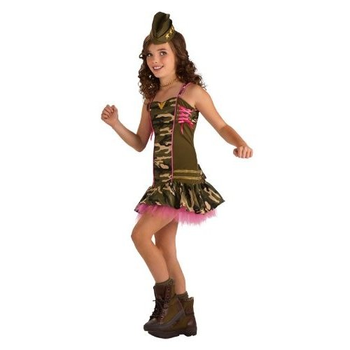 Rubie's Drama Queens Tween Army Brat Costume - Tween Medium (2- 4)