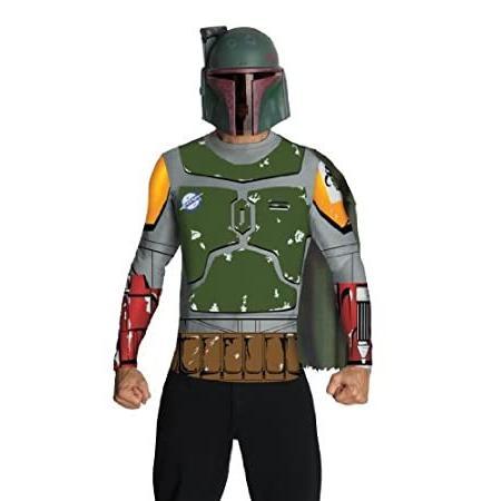 Star Wars Adult Boba Fett Costume Kit, Multicolor, Large