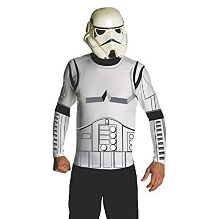 Rubie's Costume Star Wars Adult Stormtrooper Costume Kit, 白い, X-Large