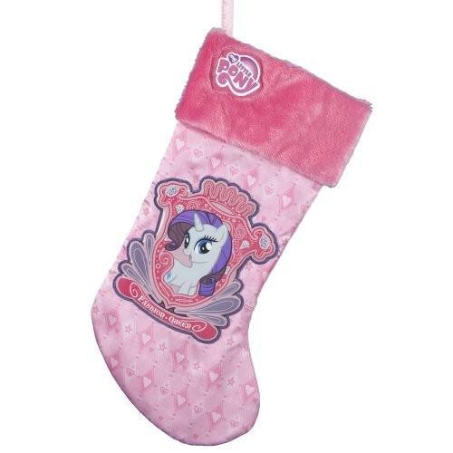My Little Pony Kurt Adler ピンク Applique Stocking, 19-Inch