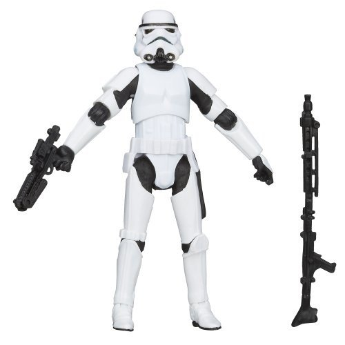 Star Wars The 黒 Series Stormtrooper Figure 3.75 Inches