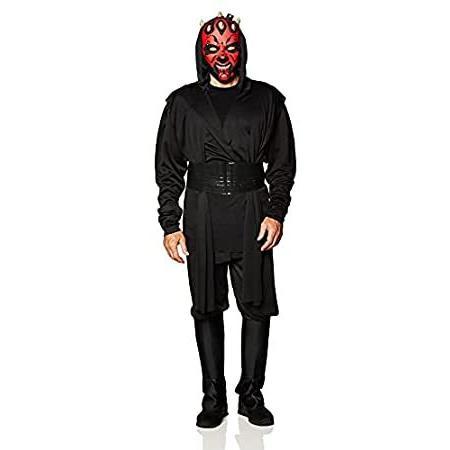 Star Wars Deluxe Adult Darth Maul Costume,黒,Standard