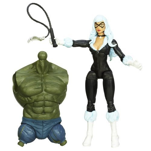 Marvel The Amazing Spider-Man 2 Marvel Legends Infinite Series Skyline Sirens Action Figure 黒 Cat, 6 Inches