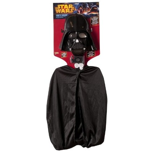 Star Wars Darth Vader Costume Accessory Set with Sound Effect Generator