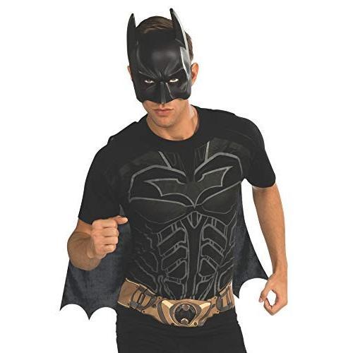 Rubie's Costume Men's Dc Comics Superhero Style Batman Movie T-Shirt, Multicolor, X-Large