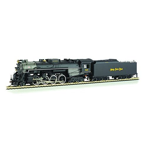 Bachmann 2-8-4 Berkshire Steam Locomotive & Tender -- DCC Sound Value Equipped NICKEL PLATE #765 - RAILFAN VERSION - HO Scale