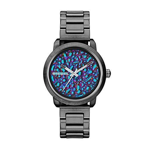 新しい到着 Diesel Analog Women's Flare DZ5428 Gunmetal Diesel Stainless-Steel Analog Stainless-Steel Quartz Watch, 大船渡市:29d969fa --- airmodconsu.dominiotemporario.com