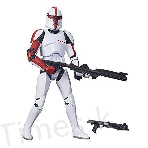 Star Wars The 黒 Series Clone Trooper Captain 6 Inch Figure