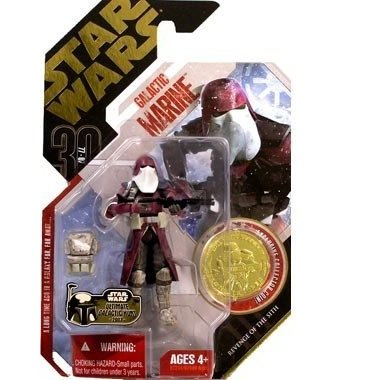 Star Wars 30th Anniversary - Revenge of the Sith - GALACTIC MARINE with Exclusive Collector ゴールド Coin (#02) by Star Wars
