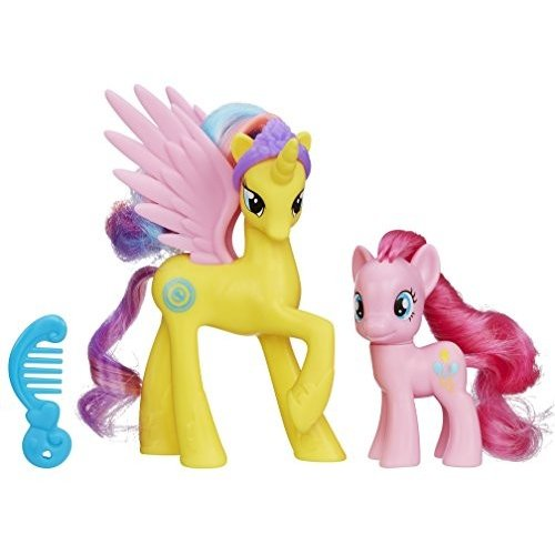 My Little Pony Friendship is Magic Cutie Mark Magic Princess ゴールド Lily & ピンクie Pie Figure 2-Pack
