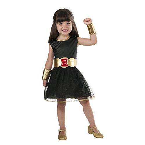 Rubie's Marvel Universe Child's 黒 Widow Costume Tutu Dress, Small