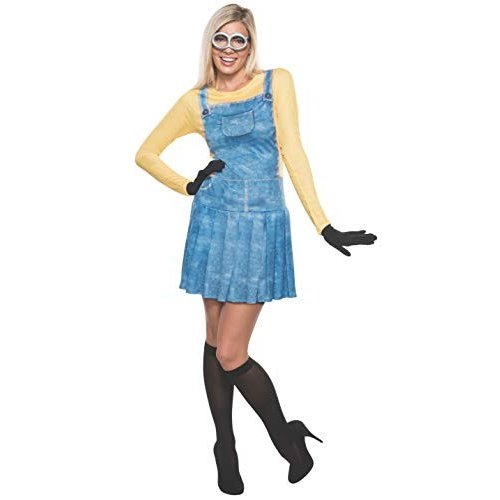 Rubie's Women's Minions Female Costume, 黄, Large