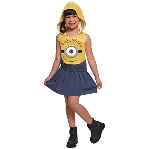 Rubie's Minion Face Hooded Dress, Small