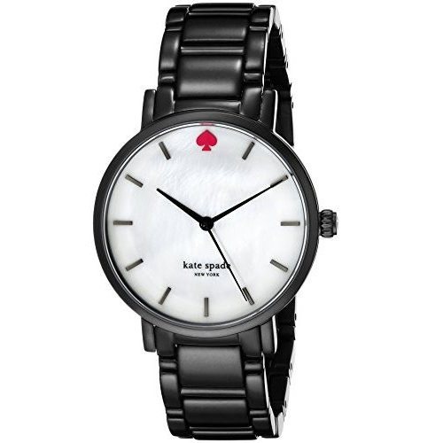 【即納】 kate spade new york Women's 1YRU0647 Gramercy Black Stainless Steel Bracelet Watch, 菓匠庵はちまん京都プレミアム 172bc604