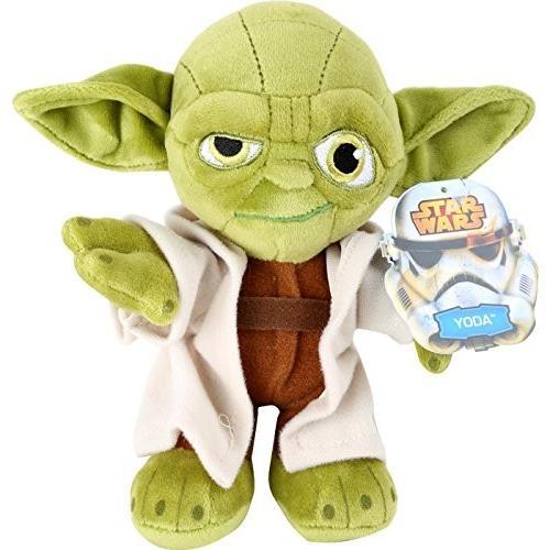 Star Wars Joy Toy 1400606 Yoda Velboa Velvet Plush Soft Toy