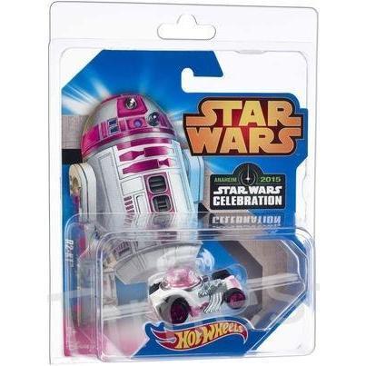 Star Wars Mattel Hot Wheels 2015 Celebration Exclusive R2-KT Die Cast Car