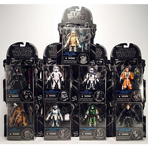 Star Wars 黒 Series 3 3/4-Inch Action Figures Wave 7 2015