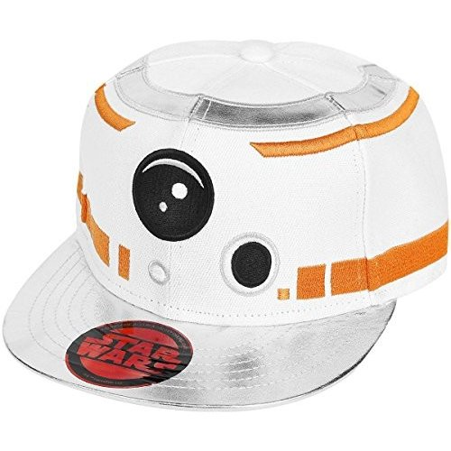 Star Wars VII The Force Awakens BB-8 Snapback Cap