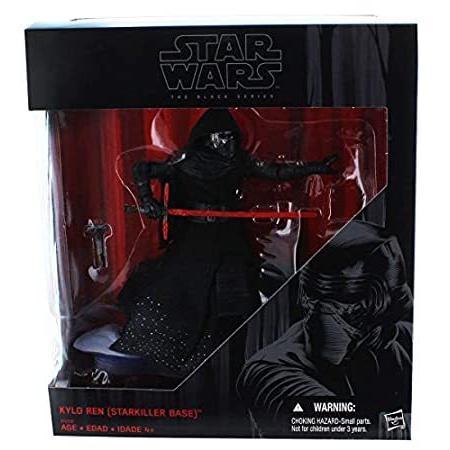 Star Wars 黒 Series 6 Kylo Ren Starkiller Base 2015 Exclusive Version