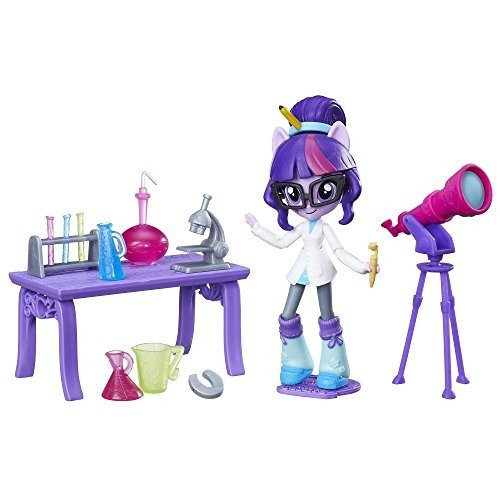 My Little Pony Equestria Girls Minis Twilight Sparkle Science Star Class Set
