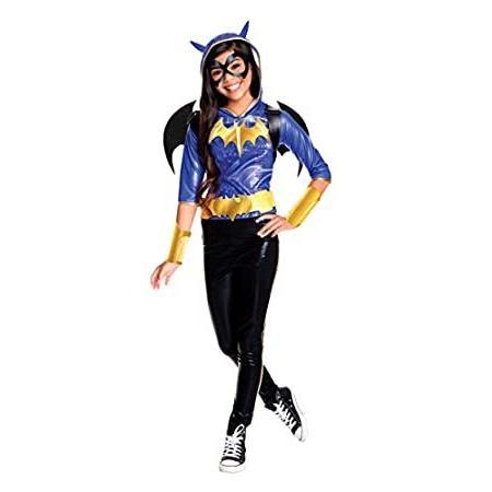 Rubie's Costume Kids DC Superhero Girls Deluxe Batgirl Costume, Medium
