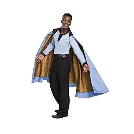 Star Wars Men's Classic Grand Heritage Lando Calrissian Costume, Multi, X-Large