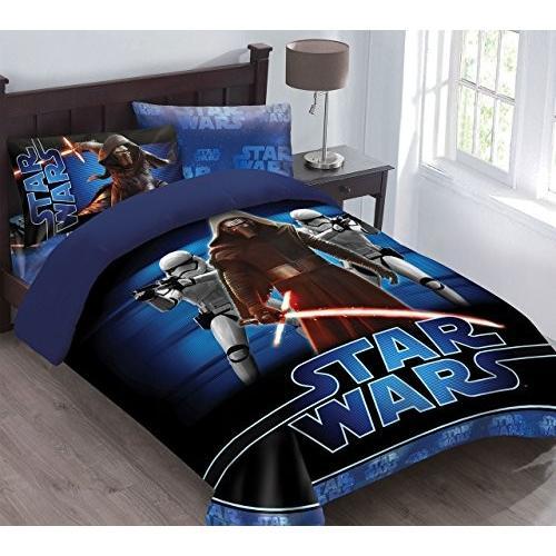 【コンビニ受取対応商品】 Star Wars The Wars Force Awakens Comforter Comforter Set with with Fitted Sheet, Full, カルビハウスのキムチ屋さん:060d8871 --- swamisamarth.online