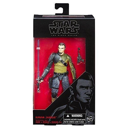 Star Wars Rebels 黒 Series - Kanan Jarrus 15cm Action Figure by Star Wars