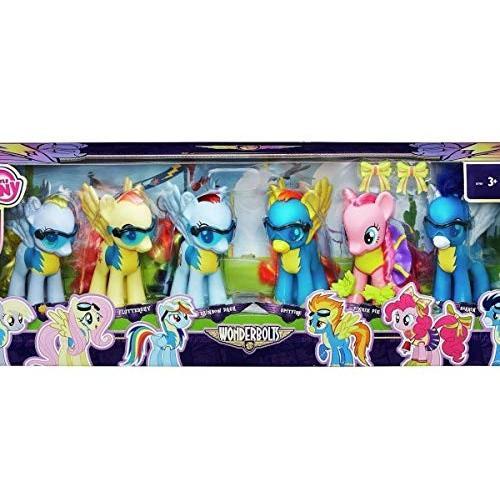 My Little Pony Ponyville 6 Pony Figures